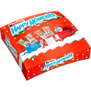 Kinder Happy Moments, 242 г, Киндер Хеппи Моментс, Новогодний набор