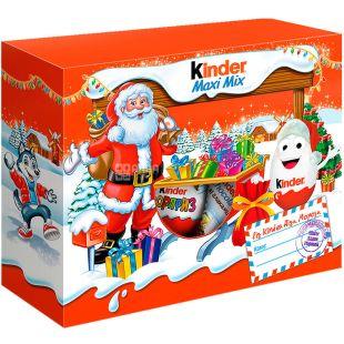Kinder, 225 г, Киндер, Новогодний набор, Новогодняя Посылка