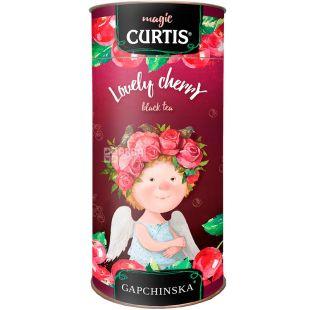Curtis, Lovely Cherry, 80 г, Кертис, Чай черный