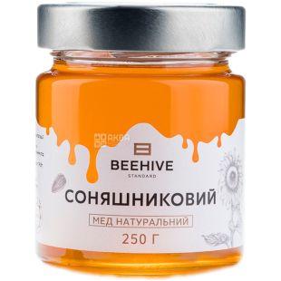 Beehive, 250 г, Бихайв, Мед натуральный, подсолнечный