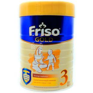 Friso Gold 3, 800 г, Фрисо Голд 3, Напиток сухой молочный, детям старше 1 года