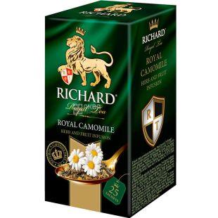 Richard, Royal Camomile, 25 пак., Ричард, Чай фруктово-травяной