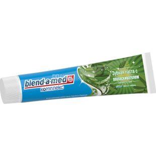 Blend-a-med, Комплекс 7, 140 мл, Бленд-а-мед, Зубная паста 2в1, с ополаскивателем Травы