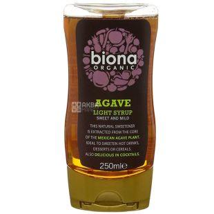 Biona Organic, 250 мл, Сироп агавы легкий