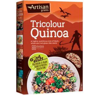 Artisan, Tricolour Quinoa, Киноа трехцветная, 200 г