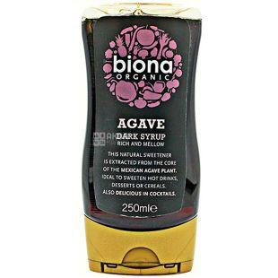 Biona Organic, 250 мл, Сироп агавы темный