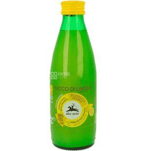 Alce Nero 0,25 л Сок лимонный, органический