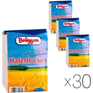 Bruggen, 500 г, Упаковка 30 шт., Брюгген, Хлопья овсяные, из цельного зерна