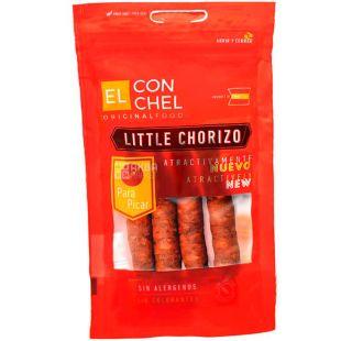 El Conchel, Little Chorizo, Ковбаски чорізо, безглютенові, 4 шт.