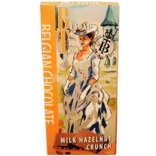 Beyond TimeBelgian Chocolate, Шоколад молочний з хрустким фундуком, 100 г