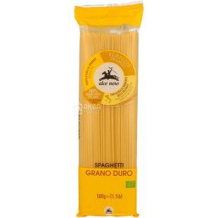Alce Nero, 500 г, Альче Неро, Паста спагетти, из твердых сортов пшеницы