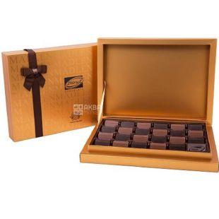 Bind, Madlen Gold, 370 г, Бінд, Набір молочного та чорного шоколаду
