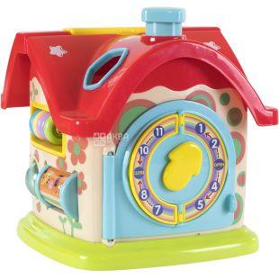 Baby Team, Іграшка для малюків Бебі Тім, Сортер-дім, для розвитку, 1+