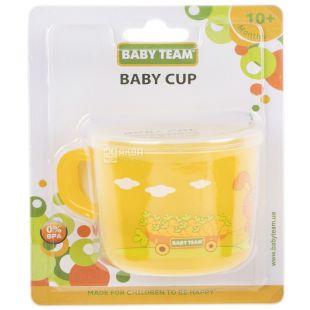 Baby Team, 200 мл, Бебі Тім, Чашка дитяча, з 10-ти місяців, в асортименті
