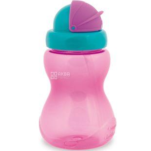 Canpol Babies, 270 мл, Канпол, Поїльник спортивний, з трубочкою, рожевий
