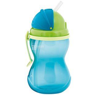 Canpol Babies, 270 мл, Канпол, Поїльник спортивний, з трубочкою, синій