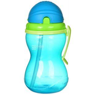 Canpol Babies, 370 мл, Канпол, Поїльник спортивний, з трубочкою, синій