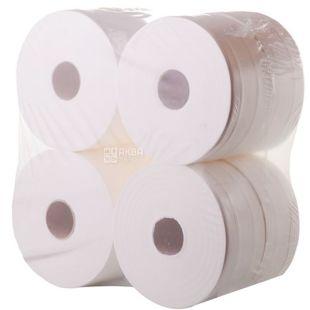 Mirus, Jumbo, 8 рул., Мирус, Туалетний папір Джамбо, 2-шаровий, 240 м