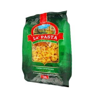 La Pasta, 0,4 кг, макарони, бантики