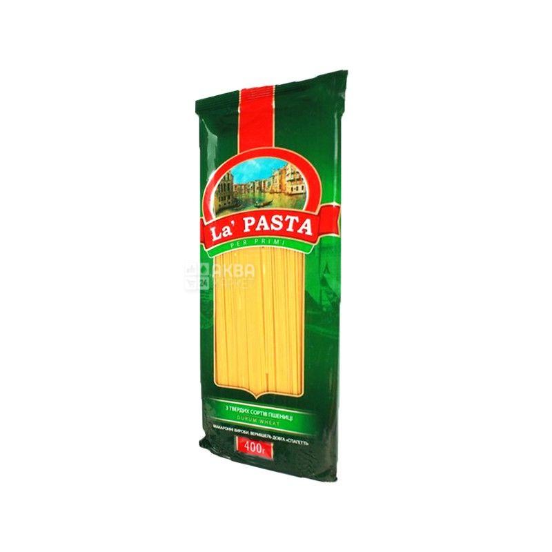 La Pasta, 0,4 кг, макароны, спагетти