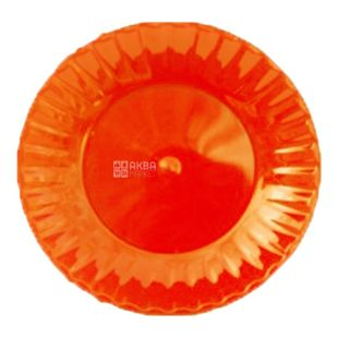 Тарелка Стеклопластик 10 шт., Д 205 мм, одноразовая ТМ Промтус
