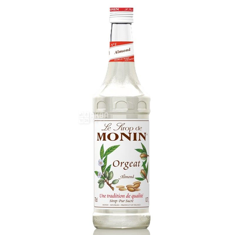Monin Almond, 0,7 л, Сироп Монін, Мигдаль, скло