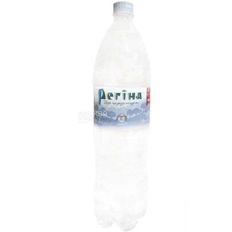 Регіна, 1,5 л, Вода негазована мінеральна, ПЕТ