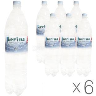 Regina, Packing 6 pcs. 1.5 l each, Non-carbonated water, Mineral, PET, PAT