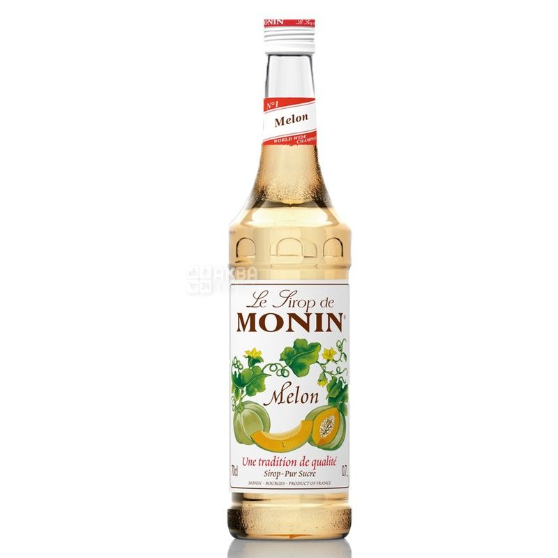 Monin, Melon, 0,7 л, Cироп Монин, Дыня, стекло