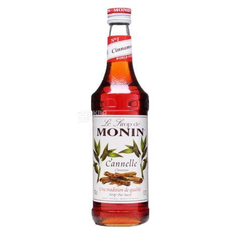 Monin Cinnamon, 0,7 л, Сироп Монін, Кориця, скло