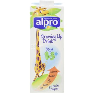 Alpro, 1 l, Drink soy, Children's with calcium, Complete Care