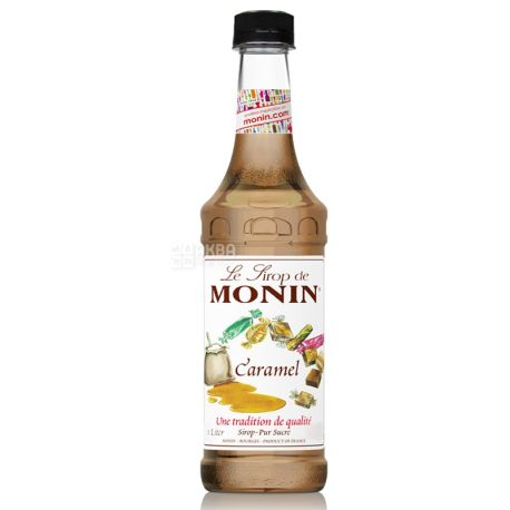 Monin Caramel, 1 л, Сироп Монін, Карамель, ПЕТ