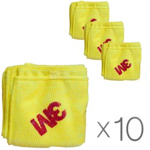 3M, 36x36 cm, pack of 10 PCs., microfiber Cloth, yellow