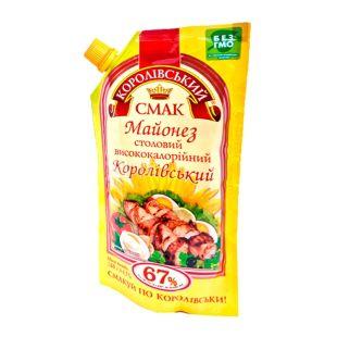 Royal flavor, 67% 360 g, mayonnaise, royal, dining, doy-pack