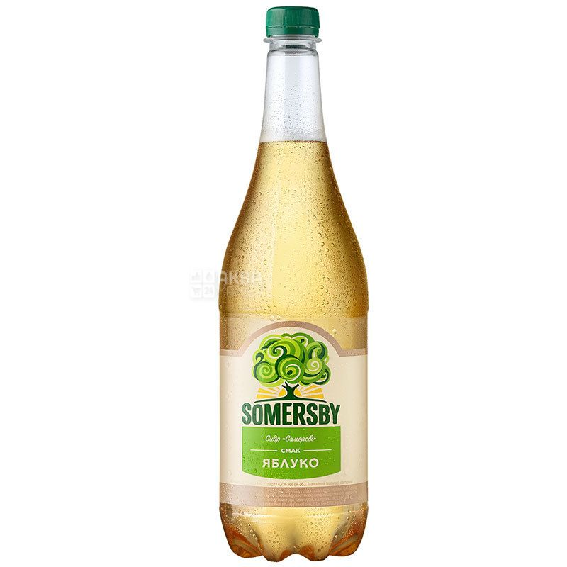 Somersby, Сидр яблочный полусладкий, 0,95 л