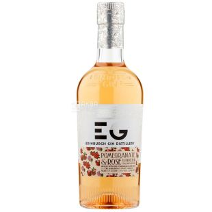 Edinburgh Gin, Pomegranate and Rose liqueur, Liquor, 0.5 L