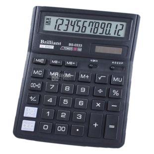 Brilliant, калькулятор, Настольный, BS-0333, м/у