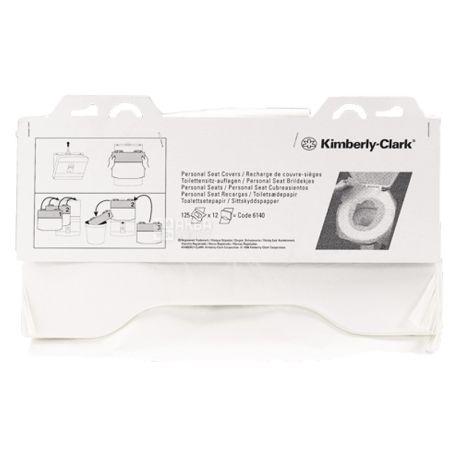 Kimberly-Clark, 125pcs., Toilet lining, Hygienic, m / s
