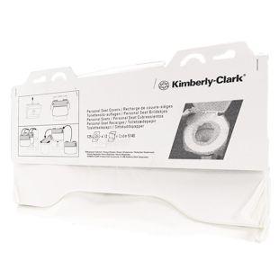 Kimberly-Clark, 125 шт., Накладки для унитаза Кимберли-Кларк, гигиенические