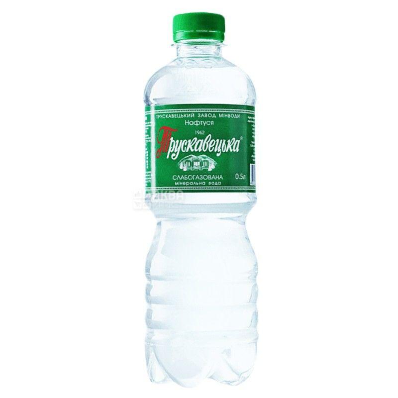 Трускавецкая, 0,5 л, слабогазированная вода, Нафтуся, ПЭТ