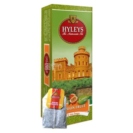Hyleys Passion Fruit Tea, 25 пак, Чай зеленый Хэйлис Пэшн Фрут Ти, Плод страсти, Маракуйя