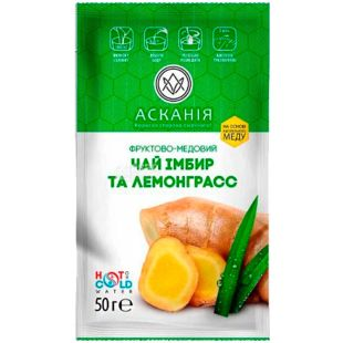 Askania, 50 g, Tea-concentrate Ginger and Lemongrass
