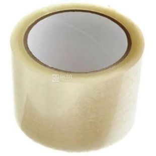 Promtus, packing 48 pcs., Household adhesive tape, transparent, 72 mm x 66 m
