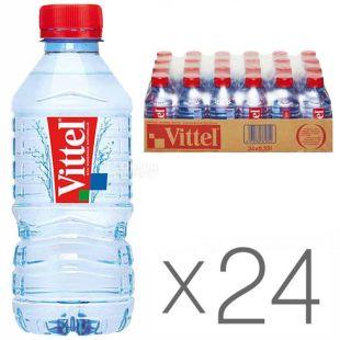 Vittel, 0,33 л, Упаковка 24 шт., Віттель, Вода мінеральна негазована, ПЕТ