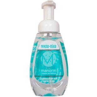 Manorm, 300 мл, Мыло-пена дезинфицирующее для мытья рук
