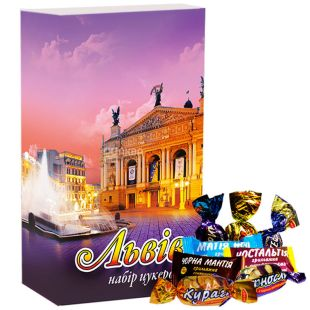 Volyn sweets, 500 g, set of sweets, Festive Lviv
