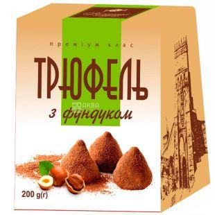 Волынские сладости, 200 г, Конфеты, Трюфель с фундуком