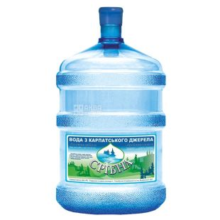 Sribna Carpathian Still Water, 18.9 liters