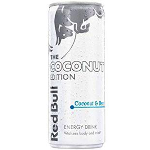Red Bull, Summer Edition, 0,25 л, Напиток энергетический, безалкогольный, со вкусом кокоса