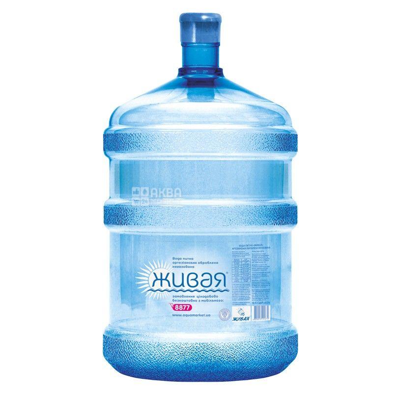 Вода 18,9 л, Живая